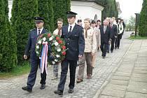 65. výročí osvobození si připomněli v Uh. Brodě-Těšově, Újezdci u Luhačovic i v Bojkovicích.