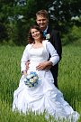 Soutěžní svatební pár číslo 120 - Veronika a David Popelkovi, Dobrotice.