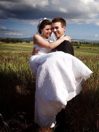 Soutěžní svatební pár číslo 24 - Lenka a Michal Uherkovi, Kněžpole.