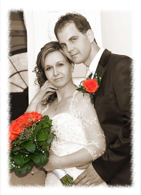Soutěžní svatební pár číslo 38 - Hana a Jan Smetánkovi, Horní Lideč.