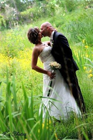 Soutěžní svatební pár číslo 51 - Veronika a Michal Královi, Dřevohostice.