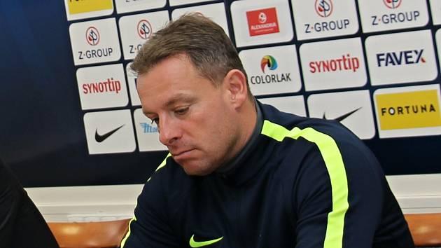 Trenér Slovácka Martin Svědík. Ilustrační foto