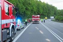 Tragická nehoda motorkáže v buchlovských kopcích poblíž obce Stupava