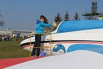 Dobrovolné umývání letadel v Kunovicích už se blíží. Ilustrační foto