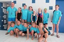 Nejmladší plavci Slovácké Slavie si ve Zlíně vedli na podtrženou jedničku.