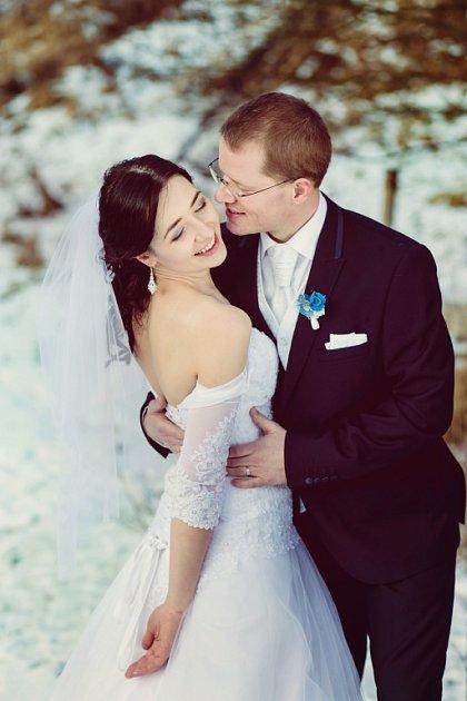 Soutěžní svatební pár číslo 163 - Markéta a Martin Lomničtí, Nový Hrozenkov