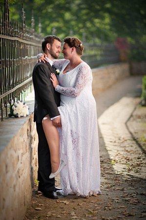 Soutěžní svatební pár číslo 292 - Žaneta a Pavel Marešovi, Olomouc.