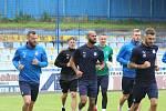 Fotbalisté ligového Slovácka na prvním tréninku po krátké letní přestávce - 16. 07. 2020