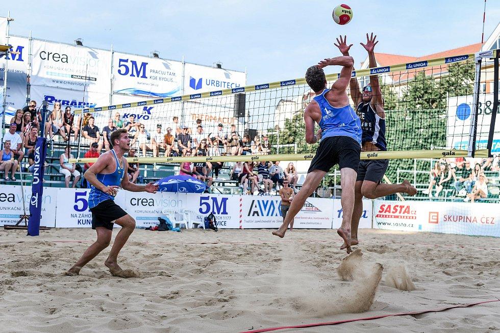 Slovácké léto 2021. Beachvolejbal
