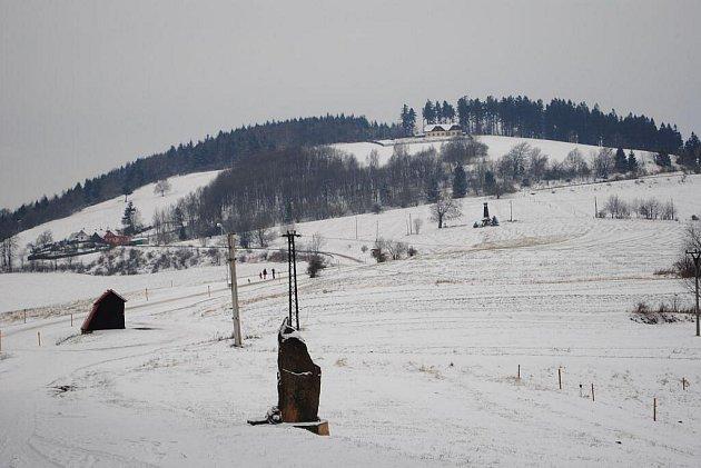 Zima už dorazila do Bílých Karpat .