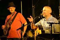 Bratři Ebenové na koncertě v Buchlovicích