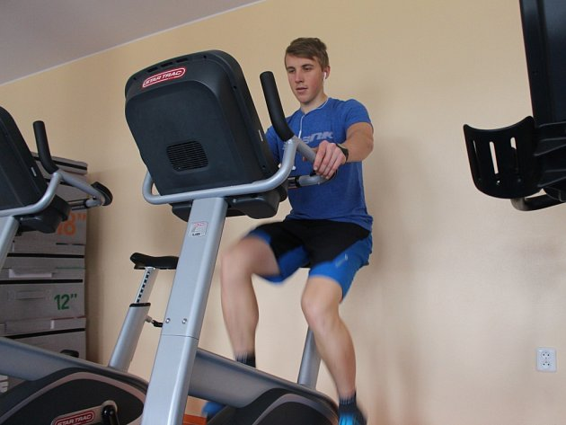 Jedním z těch, kteří si neodpustí návštěvu fitness centra ani v lednu, je také Stanislav Sehnal z Vlčnova.