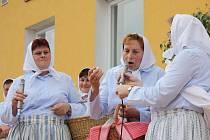 Sucholožské ženy bavily publikum.