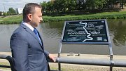 Pamětní deska v Hradišti připomíná povodně z roku 1997