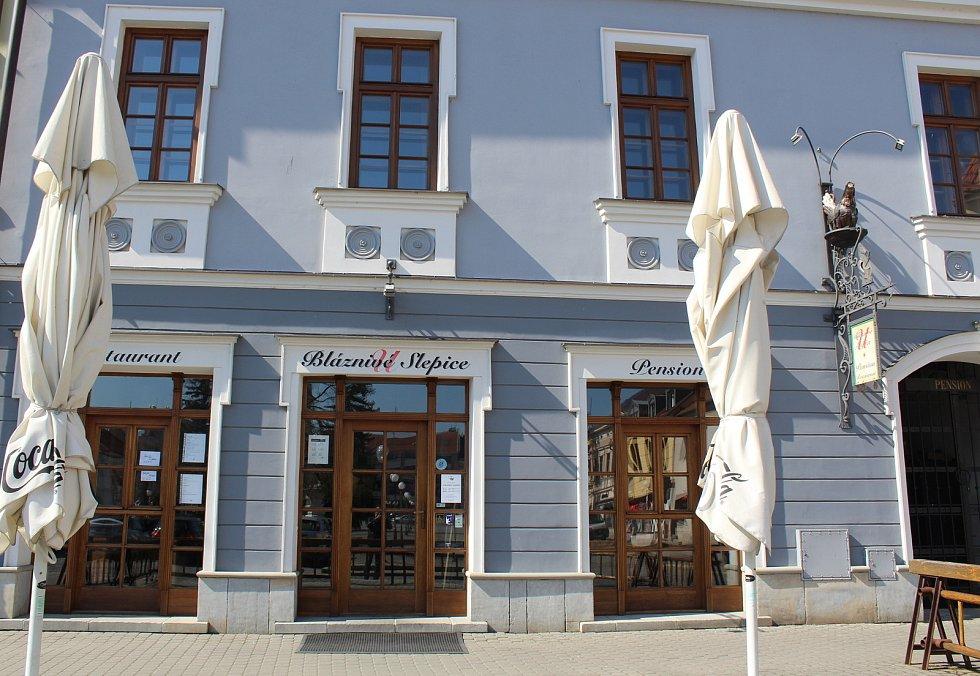 Restaurace U Bláznivé slepice v Uherském Hradišti.