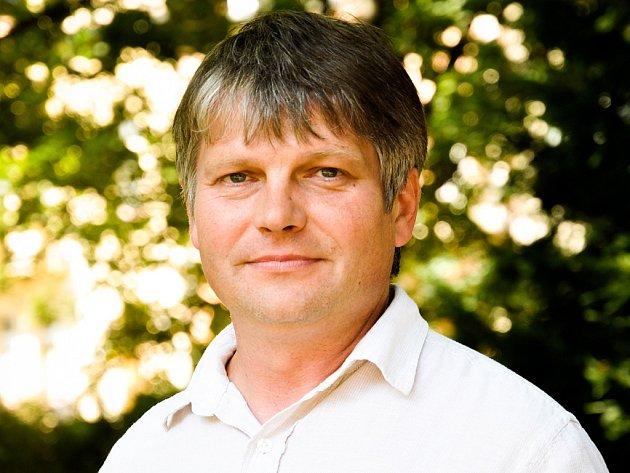 Ředitel Klubu kultury vUherském Hradišti Antonín Mach.