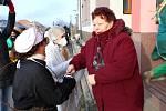Fašanková obchůzka v Dolním Němčí