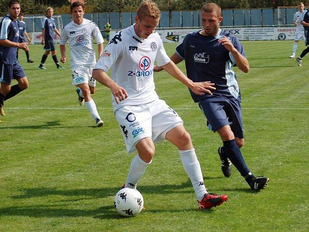 1. FC Slovácko B, Vlastimil Daníček. Ilustrační foto.