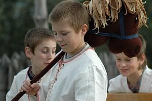 Děti z medlovického souboru Teatro medlo bambiny.