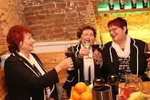 Marijánky zpívaly v Galerii slováckých vín.
