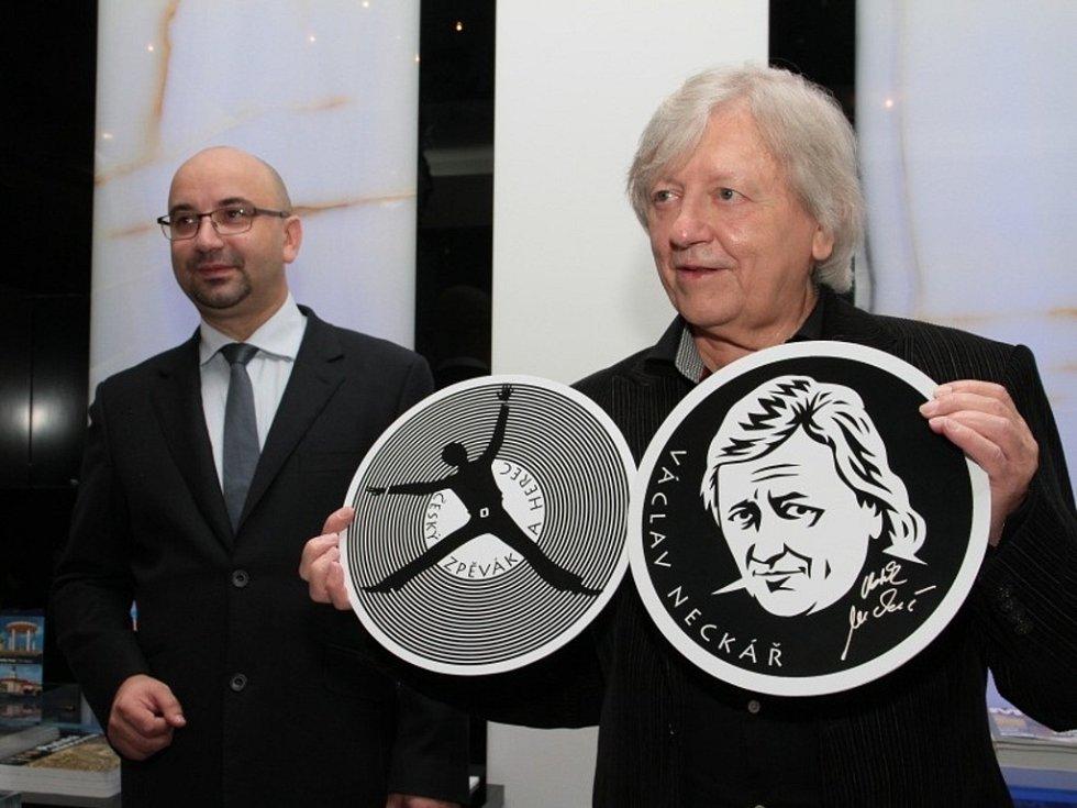 Václav Neckář bude mít medaili.