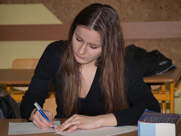 Rozvaha a soustředění, to byly hlavní předpoklady pro úspěšné absolvování všech částí jazykové soutěže.