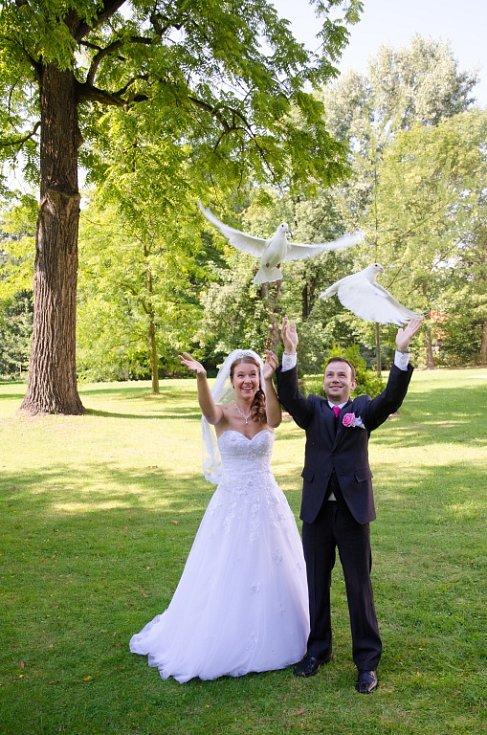 Soutěžní svatební pár číslo 188 - Andrea a Tomáš Poláškovi, Nový Jičín