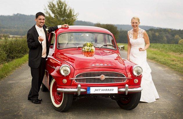 Soutěžní svatební pár číslo 219 - Karel a Veronika Pallovi, Pavlovice uPřerova.
