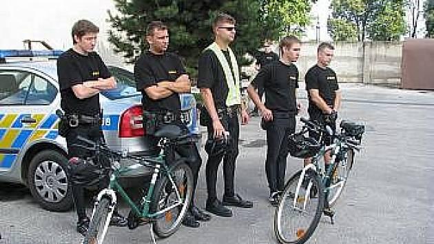 Hradišťská policejní cyklohlídka. Ilustrační foto.