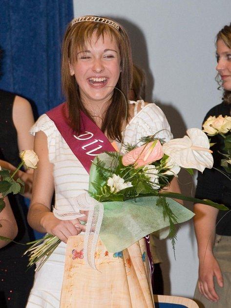 Dívkou Uherskobrodska se stala třináctiletá Šárka Bidmonová.