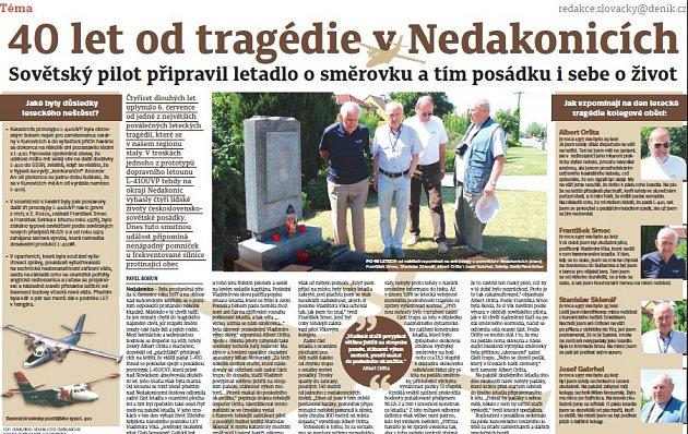 40 let od tragédie vNedakonicích