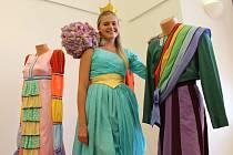 Návštěvníci zámku v Uherském Ostrohu se v sobotu 1. srpna mohli vyfotit s princeznou.