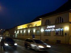 Budova Slováckého divadla v Uherském Hradišti. Ilustrační foto.