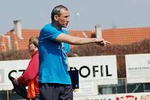Trenér Slovácka Anton Mišovec.