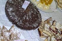Francouzský jablkový dort.