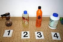 Muž z Hodonínska měl u sebe na ubytovně batoh s celou výbavu pro přípravu drogy pervitin.