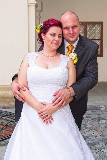 Soutěžní svatební pár číslo 114 - Pavla a Michal Sehnálkovi, Otrokovice
