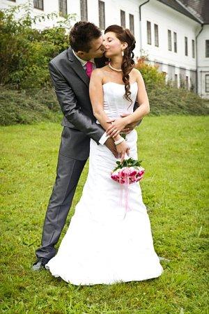 Soutěžní svatební pár číslo 131 - Tereza a Michal Rychtaříkovi, Šumperk.