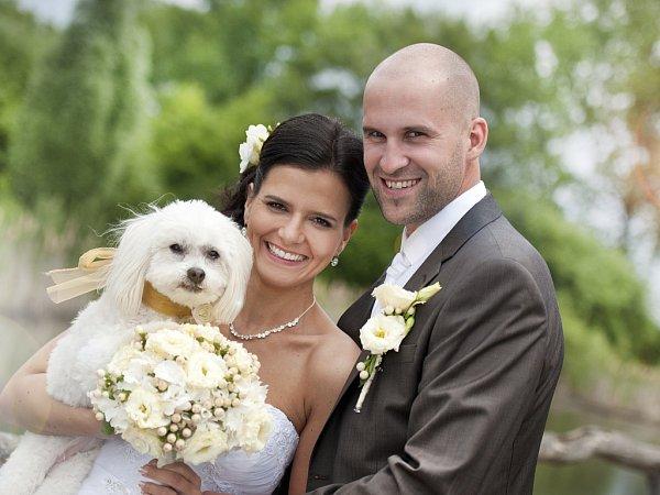 Soutěžní svatební pár číslo 137 - Markéta a Tomáš Jansovi, Olomouc