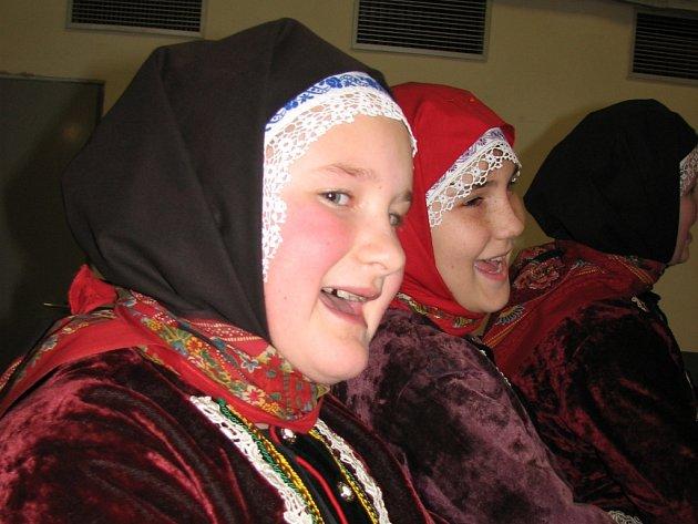 V Kopretině zazpívala děvčata z Hodonínska.