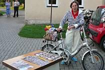Dobrovolní dárci přivezli do Zubří celkem padesát dva kol a jednu koloběžku.
