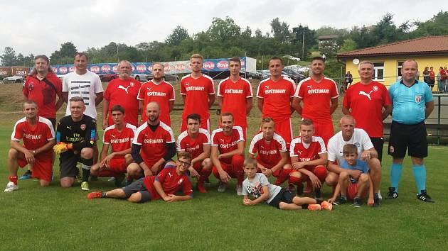 Fotbalisté Osvětiman zahájili letní přípravu utkáním proti bývalým hráčům prvoligového Slovácka.