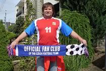 Josef Straka z Dolního Němčí vyrazí na Euro do Polska v dresu s Nedvědovým jménem na zádech.