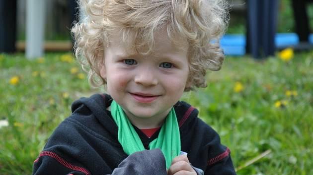 VOJTÍŠEK. Fotku svého syna poslal Ondřej Sedláček.