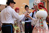 Místní část Uherského Hradiště – Sady o tomto víkendu ožila hodovým veselím.