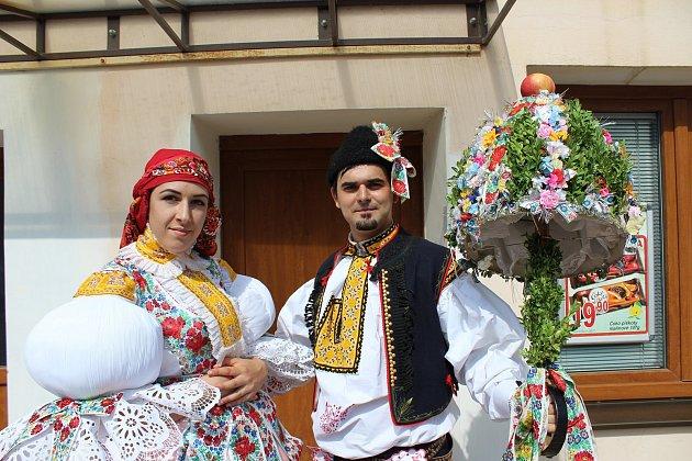 Slovácké hody správem, které patří ke koloritu Jankovic, byly o víkendu opět bez stárků.