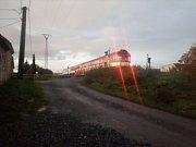 Opilec na kolejích zastavil v Kunovicích vlak.