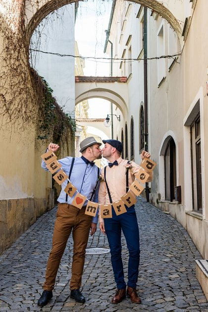 Soutěžní svatební pár číslo 20 - Marian a Robert Kopčilovi, Hranice