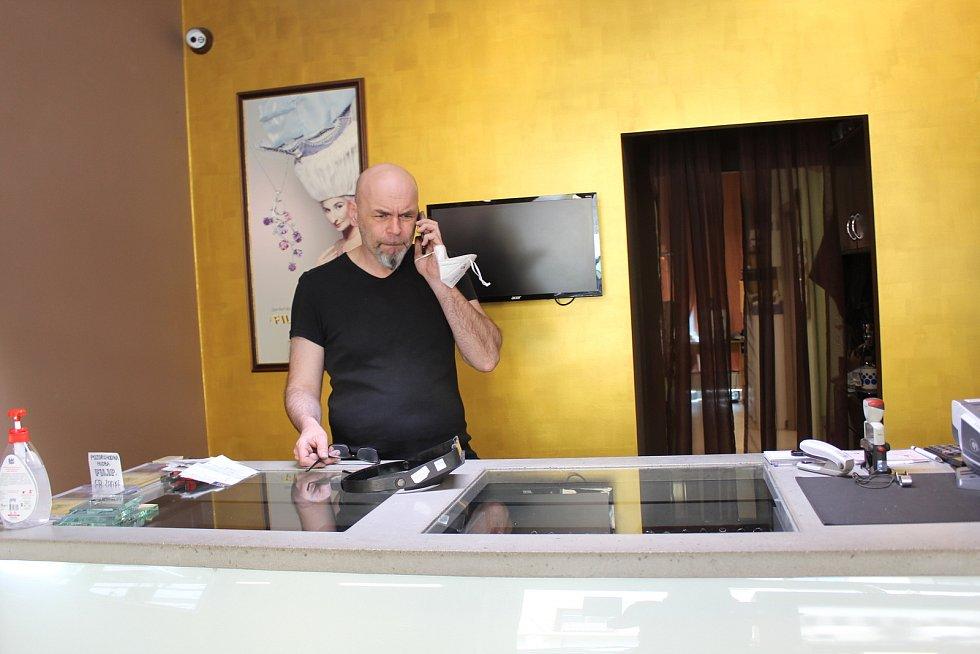 Šperkařský ateliér Filip v Uherském Hradišti. Zbyněk Zimčík