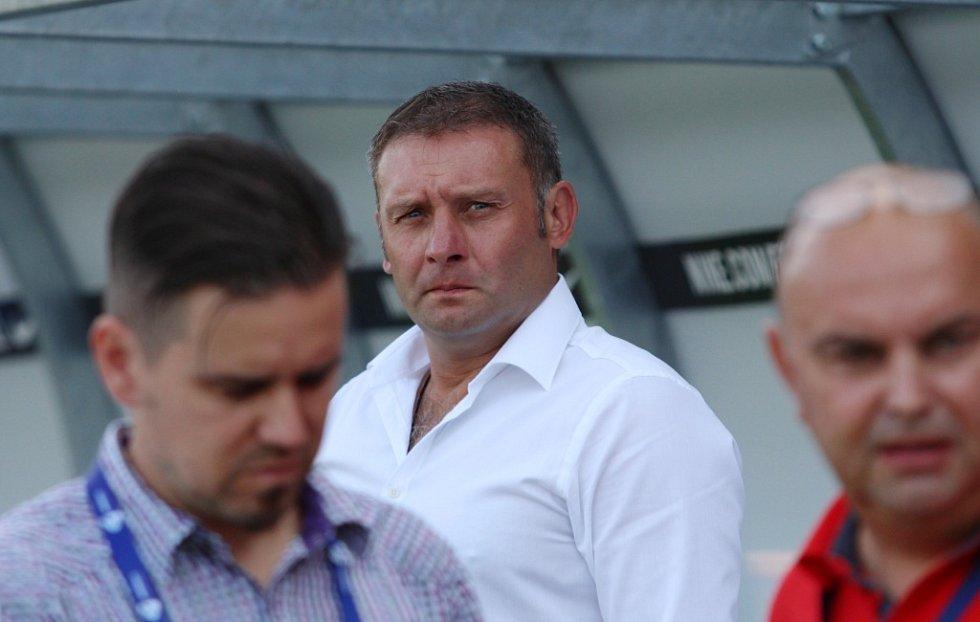 Trenér 1. FC Slovácko Svatopluk Habanec.